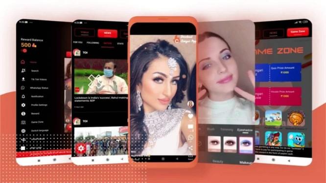 Hàng loạt ứng dụng nội địa tương tự TikTok được giới thiệu nhưng vẫn chưa thu hút được số đông người dùng Ấn Độ. Ảnh: Gadgets360