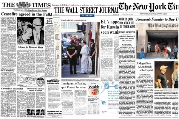 Các tờ báo nước ngoài cũng từng đối mặt với khủng hoảng ở giai đoạn triển khai thu phí.