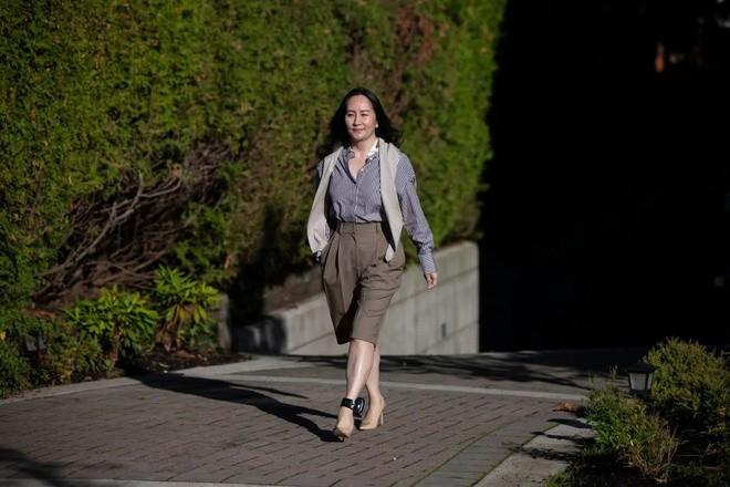 Bà Mạnh Vãn Châu xuất hiện trước phiên tòa ngày 28/9. Ảnh: CBC.