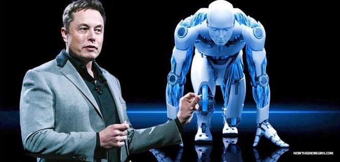 Trong một phát biểu vào năm 2017, Elon Musk từng cảnh báo việc các công ty công nghệ chạy đua AI có thể dẫn đến Thế chiến thứ 3. Ảnh: Nowtheendbegins.