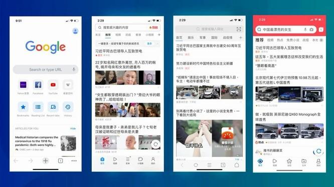 Người Trung Quốc thích trình duyệt Chrome ảnh 2