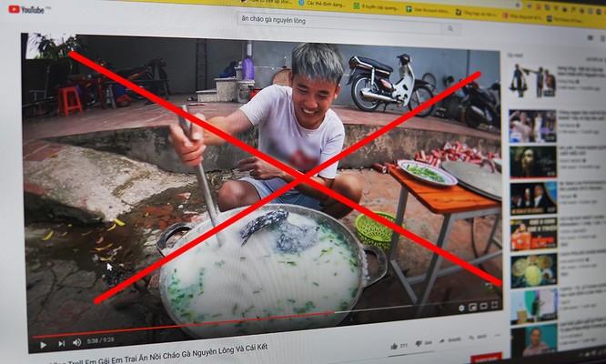 Nguyễn Văn Hưng bị yêu cầu xóa video và nộp phạt.