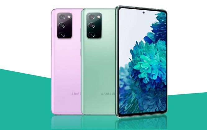 Mẫu smartphone Galaxy S20 FE của Samsung