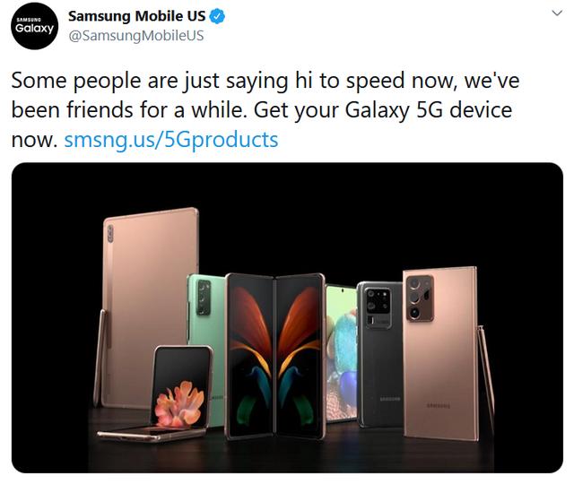 "Samsung ""đá đểu"" Apple sau màn ra mắt iPhone 12 ảnh 1"