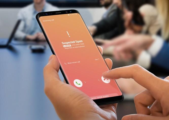 Điện thoại Samsung tự động chặn cuộc gọi 'rác' ảnh 1