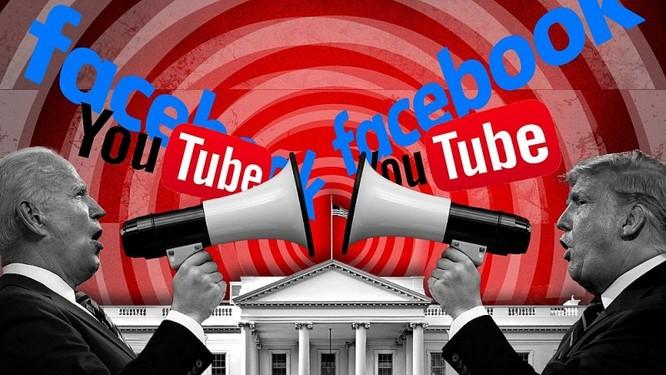 Chuyên gia IT tiết lộ ông Trump hay Biden, ai đang thật sự chiếm lợi thế trên Facebook và Google? ảnh 1