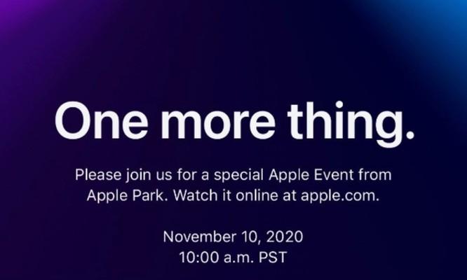 Apple sẽ công bố gì trong sự kiện 10/11? ảnh 1