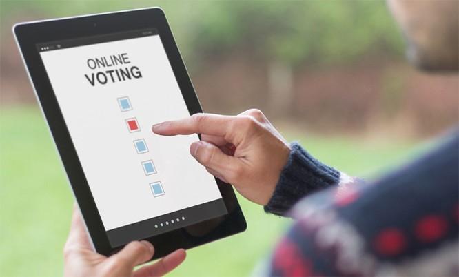 Tại sao Mỹ không bầu cử online ảnh 1