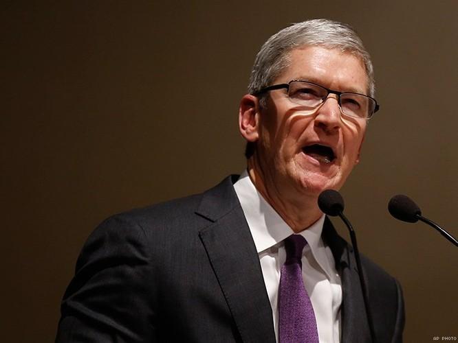 Apple đối diện vụ kiện vì bình luận về Trung Quốc của CEO Tim Cook năm 2018 ảnh 1