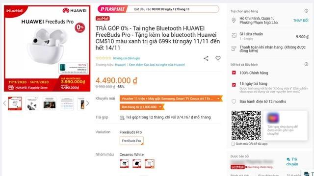 iPhone, tai nghe giảm giá hơn 10 triệu đồng là trò lừa đảo ngày sale 11/11 ảnh 2