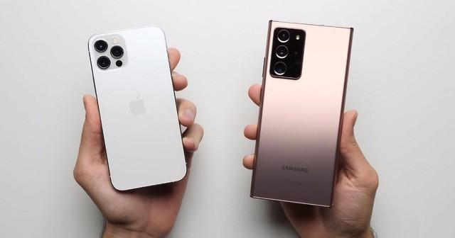 """Samsung lần đầu """"đánh bại"""" Apple trên đất Mỹ kể từ năm 2017 ảnh 1"""