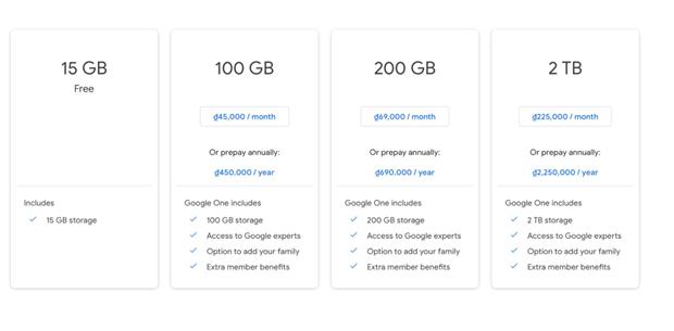 Google Photos sẽ ngừng lưu trữ ảnh miễn phí từ giữa năm 2021 ảnh 2