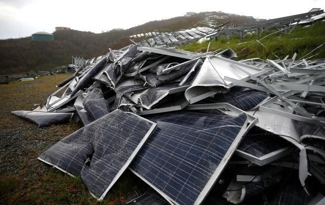Mảng tối điện mặt trời, nguy cơ ô nhiễm từ pin hết hạn sử dụng ảnh 2