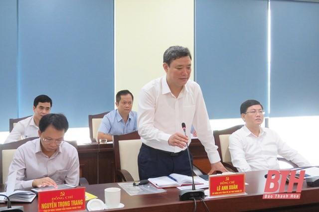 Đoàn công tác Bộ Thông tin và Truyền thông làm việc với Ban Thường vụ Thành uỷ TP Thanh Hoá ảnh 4