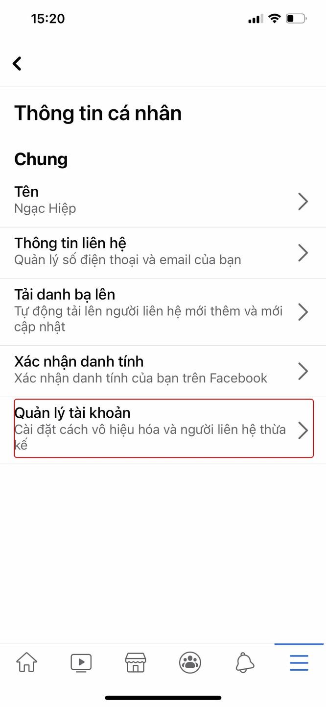 Hướng dẫn bạn khóa Facebook tạm thời bằng điện thoại ảnh 2