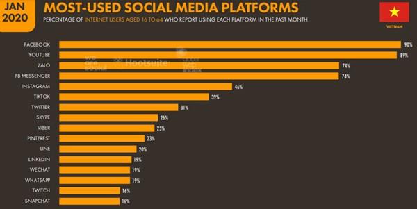Mạng xã hội Việt Nam đang ở đâu so với Facebook, Google? ảnh 6