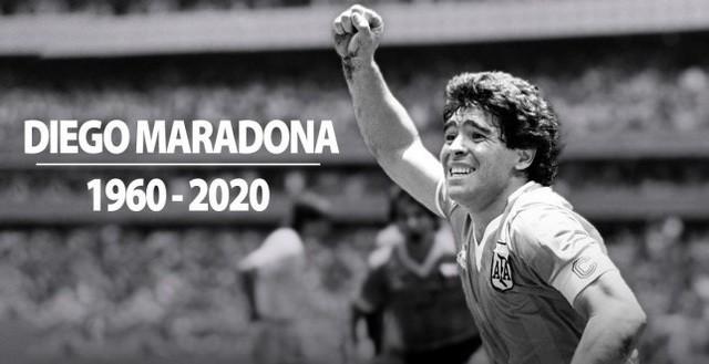 Dân mạng treo hashtag Maradona tưởng nhớ huyền thoại bóng đá Argentina ảnh 1