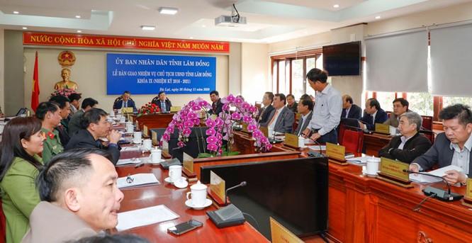 Bàn giao nhiệm vụ Chủ tịch UBND tỉnh Lâm Đồng khoá IX, nhiệm kỳ 2016 - 2021 ảnh 6