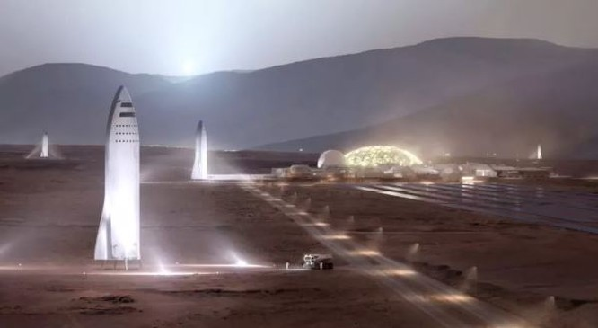 Elon Musk thề sẽ đưa người lên sao Hỏa vào năm 2026 ảnh 2