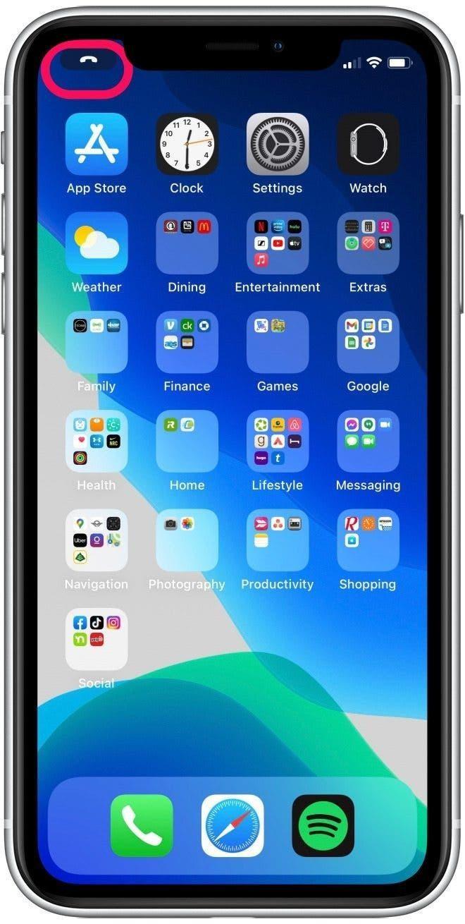 Hướng dẫn nhận cuộc gọi đến trên iOS 14 toàn màn hình ảnh 5