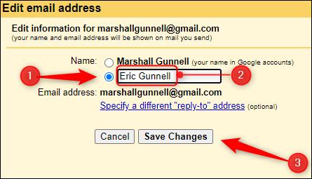 Hướng dẫn thay đổi tên hiển thị trên Gmail khác tên tài khoản Google ảnh 5