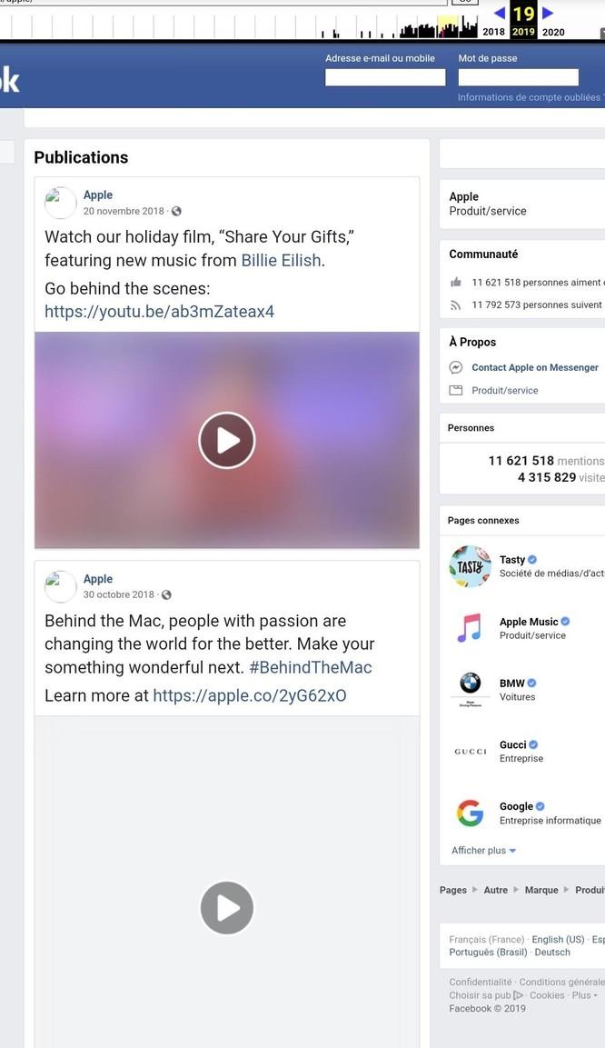 Facebook không gỡ tick xanh trên fanpage của Apple ảnh 2