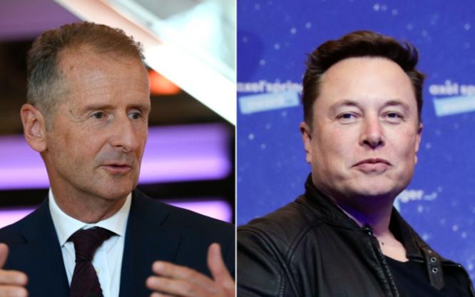 "CEO Volkswagen ""cà khịa"" Elon Musk ảnh 1"
