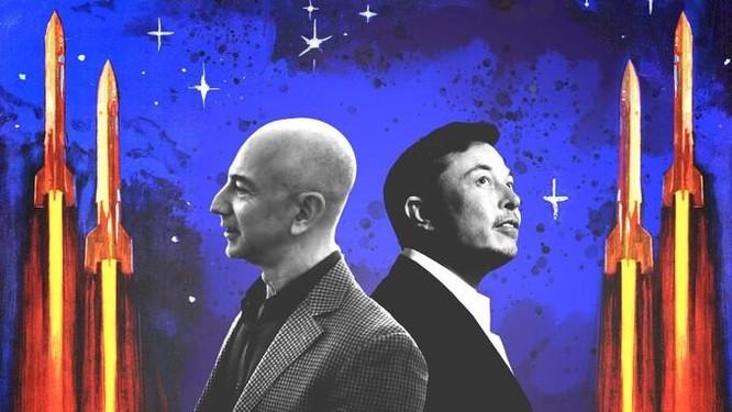 Tại sao Jeff Bezos, Elon Musk quyết chinh phục không gian ảnh 1