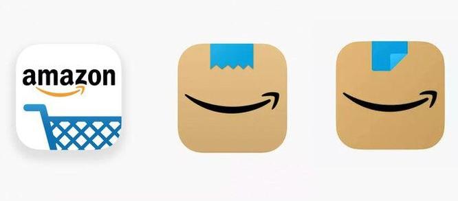 Tranh cãi vì logo mới của Amazon giống Hitler đang cười ảnh 1