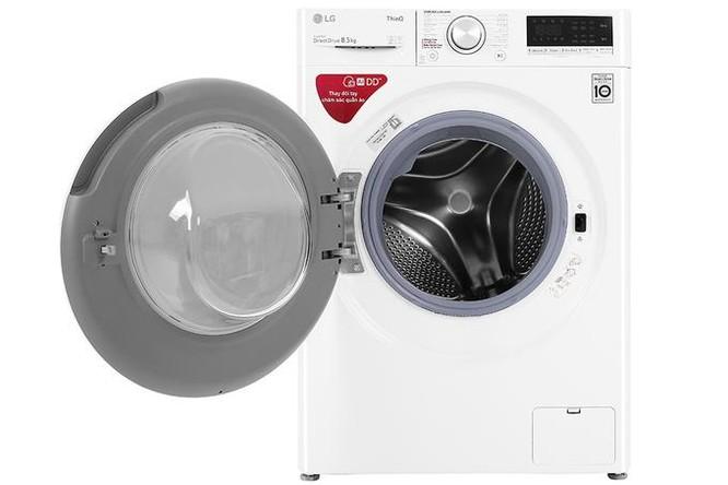 Loạt máy giặt lồng ngang cỡ lớn giảm giá đầu năm ảnh 1