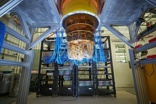Trung Quốc thách thức đột phá lượng tử của Google ảnh 1