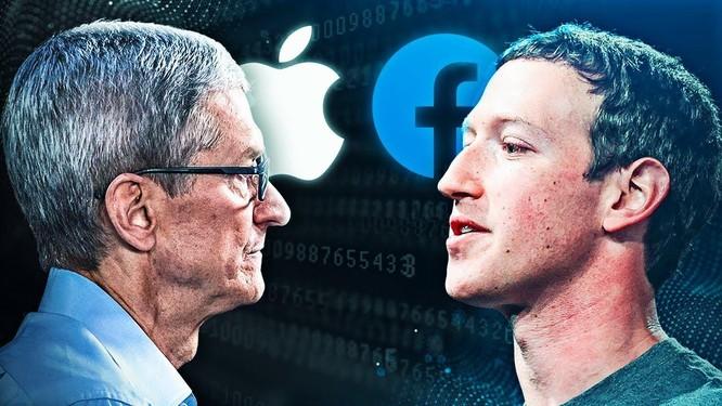 Chiến tranh lạnh Apple - Facebook ảnh 1