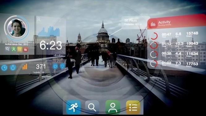 Kính áp tròng thông minh hiển thị dữ liệu, thông tin thời gian thực ảnh 2