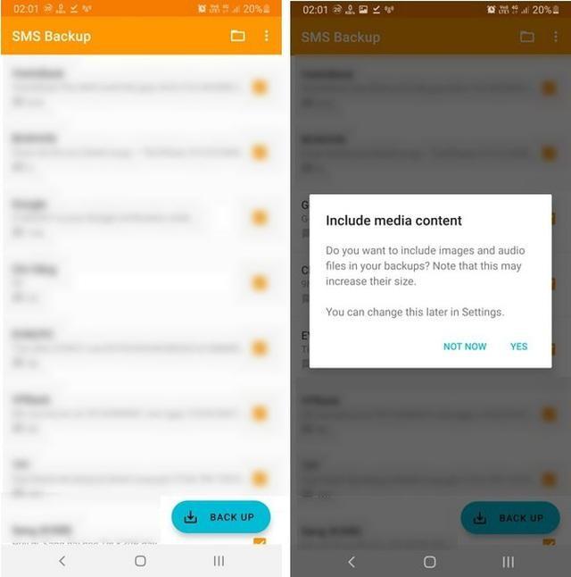 Thủ thuật giúp sao lưu và phục hồi toàn bộ tin nhắn trên smartphone ảnh 1