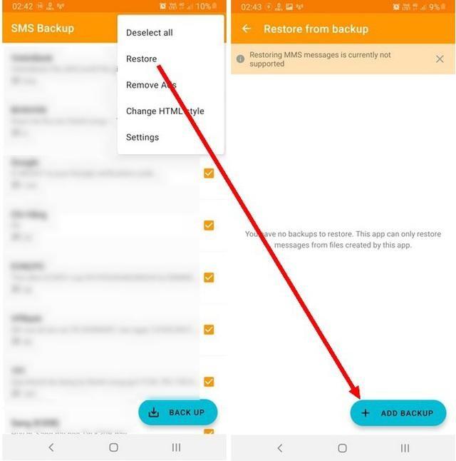 Thủ thuật giúp sao lưu và phục hồi toàn bộ tin nhắn trên smartphone ảnh 3