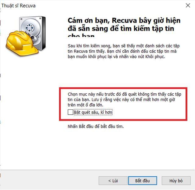Thủ thuật giúp khôi phục dữ liệu bị xóa nhầm trên máy tính ảnh 5