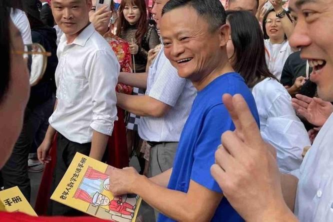 Hình ảnh hiếm của Jack Ma sau nhiều ngày vắng mặt ảnh 1