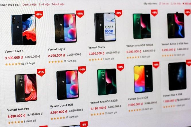 Điện thoại VinSmart đồng loạt giảm giá ảnh 1