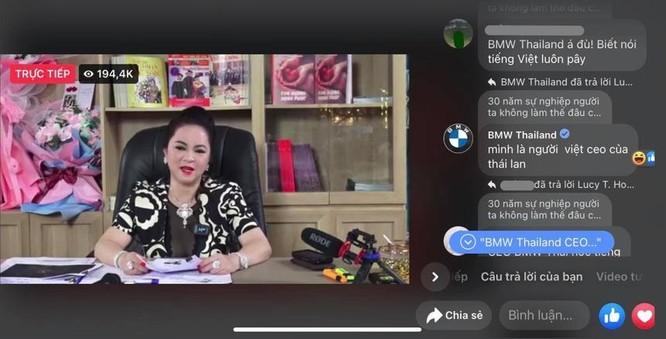 Fanpage BMW Thái Lan bình luận về Hoài Linh ảnh 2