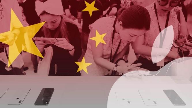 Apple chiếm thị phần của Huawei tại Trung Quốc ảnh 1