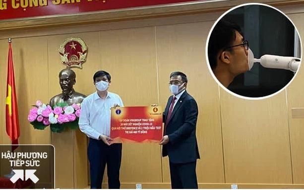 Tin vui: Việt Nam sắp có máy xét nghiệm Covid-19 qua hơi thở, cho kết quả nhanh sau chưa đầy 1 phút ảnh 1