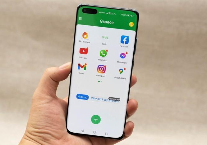 Chạy ứng dụng của Google trên smartphone Huawei bằng GSpace ảnh 1