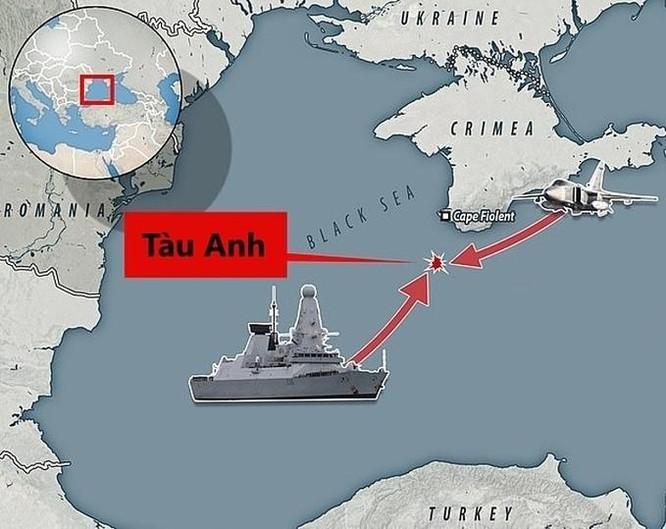 Nội bộ Anh có thể hục hặc vì chiến hạm áp sát Crimea ảnh 1
