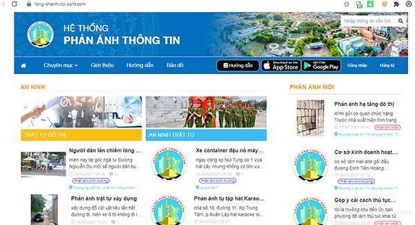 Ứng dụng Long Khánh Smart: Kết nối người dân và chính quyền ảnh 1