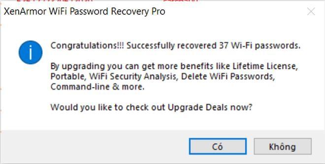 Thủ thuật tìm lại mật khẩu của các mạng Wi-Fi đã kết nối trên máy tính ảnh 6