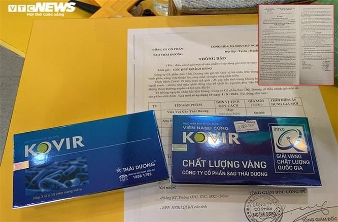 Trước lùm xùm giá viên nang Kovir, Sao Thái Dương trúng chỉ định thầu hàng loạt ảnh 2