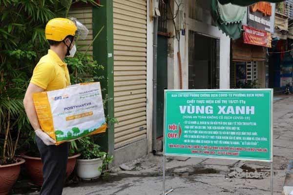 """Hà Nội thiết lập các """"vùng xanh"""", doanh nghiệp bưu chính đổi cách giao hàng thiết yếu ảnh 2"""