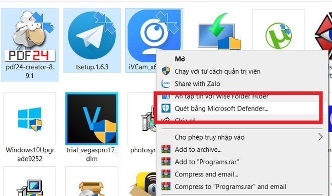 """Thủ thuật kiểm tra """"độ sạch"""" của file trước khi sử dụng trên máy tính ảnh 2"""