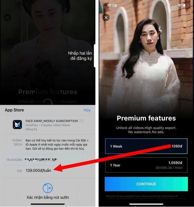 """Cẩn thận mất tiền, thông tin cá nhân với ứng dụng FacePlay đang """"gây sốt"""" ảnh 2"""