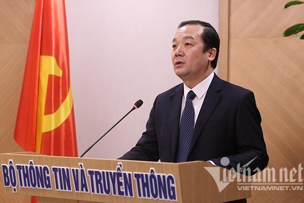 Bộ TT&TT tạm thời phân công nhiệm vụ cho Thứ trưởng Phạm Đức Long ảnh 1